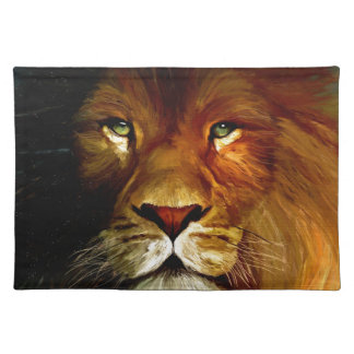 Midnight Lion 1.jpg Placemat