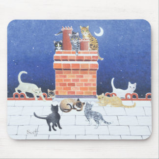 Midnight Madness Mouse Mat