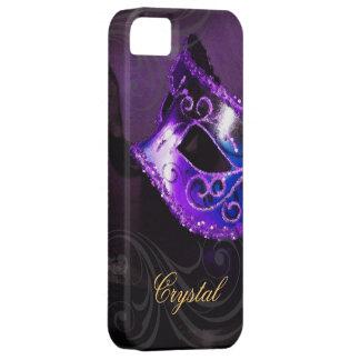 Midnight Masquerade Purple Fantasy Iphone Five iPhone 5 Case