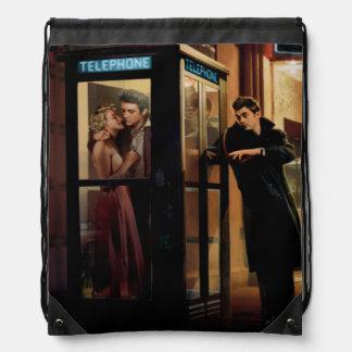 Midnight Matinee Drawstring Bag