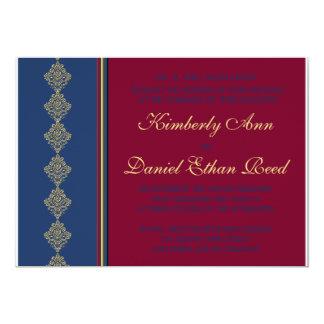 Midnight Merlot Wedding Collection Card