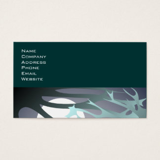 Midnight Moon and Branches Business Card