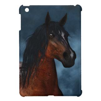 """""""Midnight Moon"""" Pinto Horse iPad Mini Case"""
