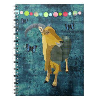Midnight Moonlight Aoudad Notebook