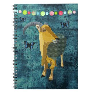 Midnight Moonlight Aoudad Notebook