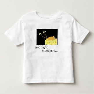 MIDNIGHT MUNCHERS MOUSE EYES CHEESE SHIRTS TEES