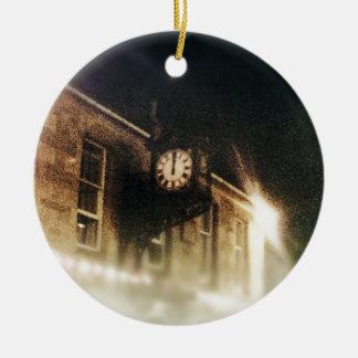 Midnight on Hogmanay Christmas Ornament