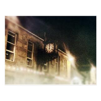 Midnight on Hogmanay Postcard