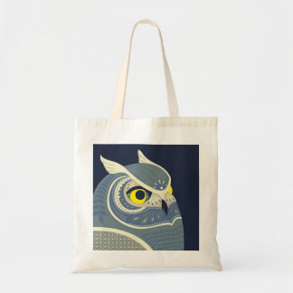 midnight owl canvas bags