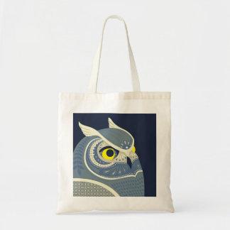 midnight owl canvas bags