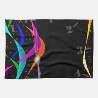 Midnight Party Hand Towel