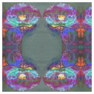 Midnight Poppy Fabric