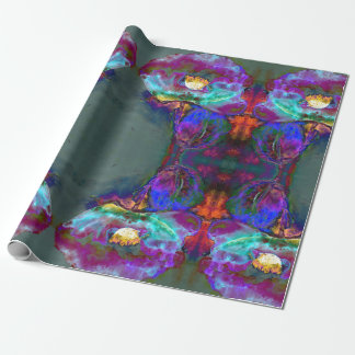 Midnight Poppy Wrapping Paper