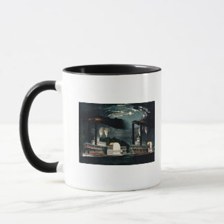 Midnight Race on the Mississippi Mug