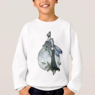 Midnight Rose Gothic Fairy Moon Sweatshirt