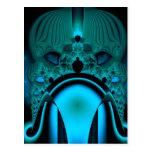 Midnight Skullcap Fractal