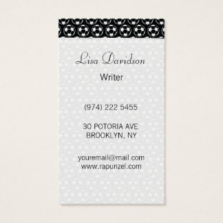 Midnight Soccer Dream Business Card