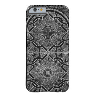 Midnight Stained Glass Black Barely There iPhone 6 Case