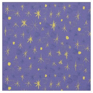 Midnight Starburst Fabric