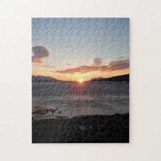 Midnight sun jigsaw puzzle