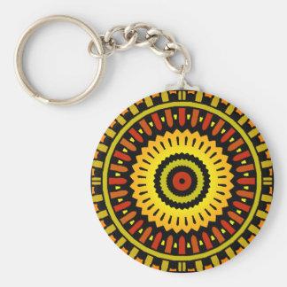Midnight Sun Keychain