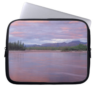 midnight sun over the MacKenzie River, off the Laptop Sleeve