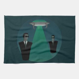 Midnight Visit Tea Towel