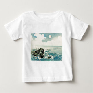 Midnight Waves Baby T-Shirt