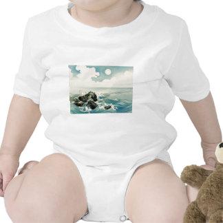 Midnight Waves Baby Bodysuit
