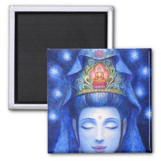 Midnight Zen Meditation Kuan Yin Magnet