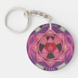MidPyre Pink logo Acrylic Keychains