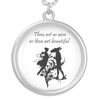 Midsummer Dream Silver Plated Necklace