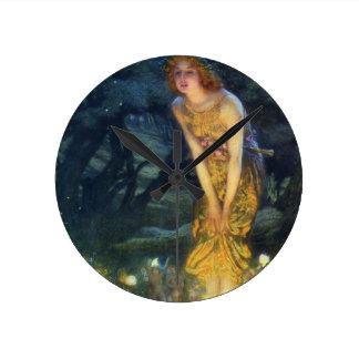 Midsummer Eve Fairy Dance Clock