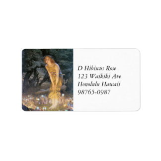Midsummer Eve Fairy Ring Address Label