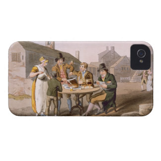 Midsummer Eve, from `Costume of Yorkshire' engrave iPhone 4 Cases