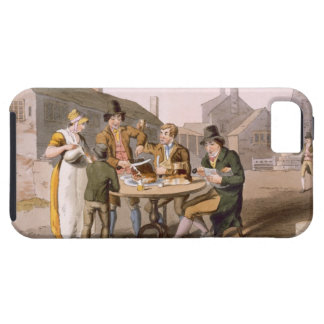 Midsummer Eve, from `Costume of Yorkshire' engrave iPhone 5 Cover
