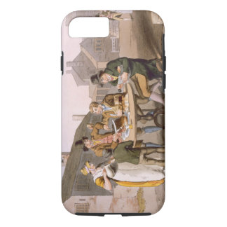 Midsummer Eve, from `Costume of Yorkshire' engrave iPhone 8/7 Case