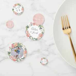 Midsummer Floral Bridal Shower Confetti