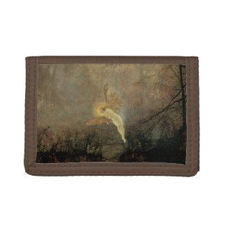 Midsummer Night by Grimshaw, Vintage Victorian Art Tri-fold Wallet