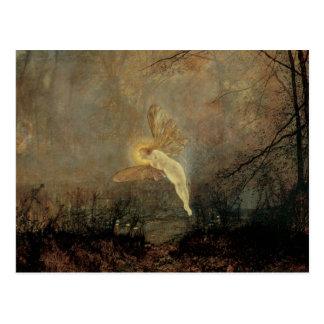 Midsummer Night, Grimshaw, Vintage Victorian Fairy Post Card