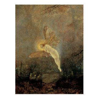 Midsummer Night Grimshaw Vintage Victorian Fairy Postcard