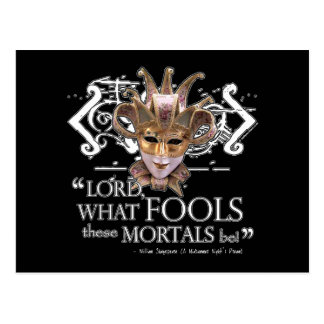 Midsummer Night s Dream Quote Post Card