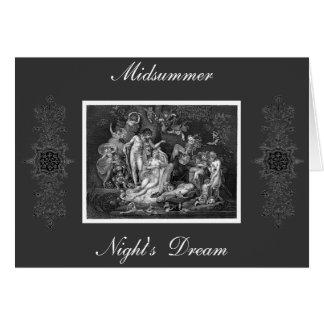Midsummer Night's Dream Card