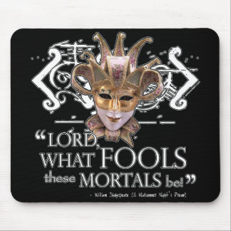 Midsummer Night's Dream Quote Mouse Pad
