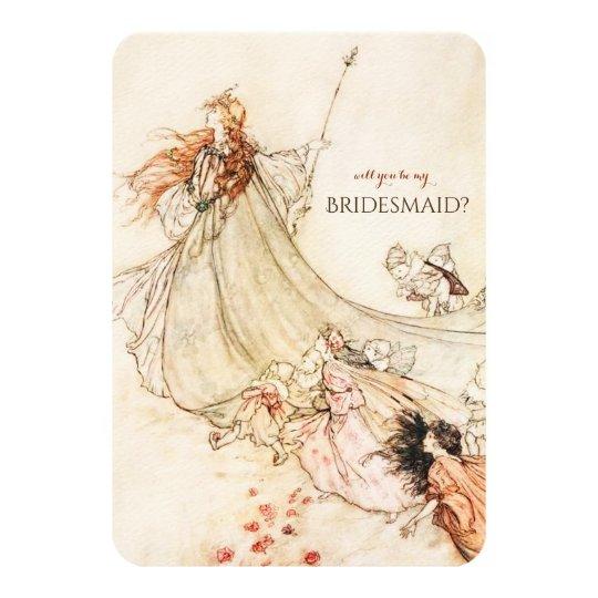 Midsummer Night's Dream Will You Be My Bridesmaid?