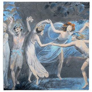 Midsummer Night's Dream, William Blake Napkin