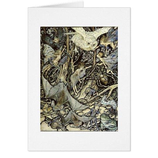 Midsummer Night's Fantasy (Blank Inside) Card