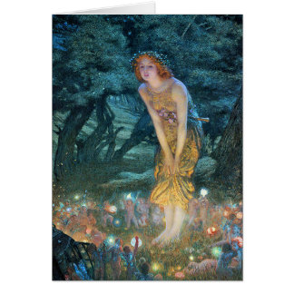 Midsummer s Eve Greeting Card