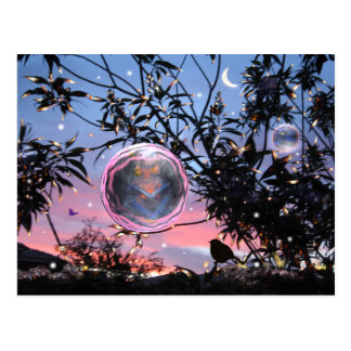 Midsummer's Eve Fairy Bubbles! Postcard