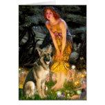 Midsummers Eve - German Shepherd 2 Cards